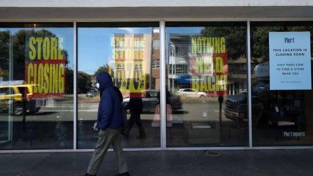 調查:受疫情衝擊 紐約市恐近3分之1小型企業倒閉  (圖片:AFP)