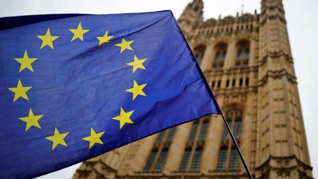 英歐意見分歧 英無協議脫歐機率增(圖片:AFP)