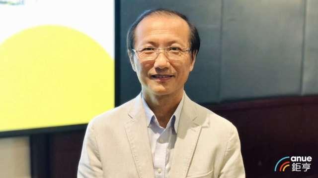 晶心科總經理林志明。(鉅亨網記者魏志豪攝)