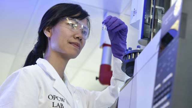 永光原料藥二廠去年10月獲得FDA稽查改善結案通知,眼科用藥產品訂單加溫。(圖:AFP)