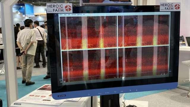研華攜英特爾、聿信打造「AI連續肺音監測系統」,成功應用在新冠病毒治療流程。(圖:研華提供)