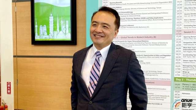 美國史丹佛大學教授王智弘。(鉅亨網記者沈筱禎攝)