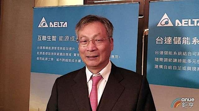 台達電資深副總裁劉春條。(鉅亨網資料照)