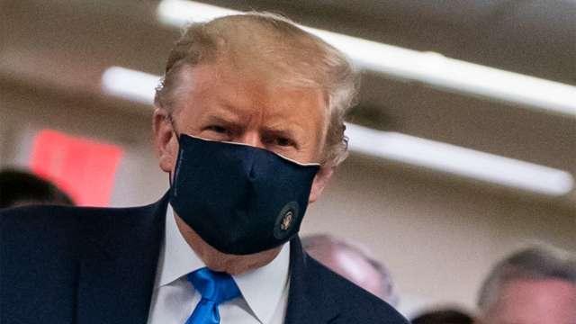 怒中國傳播疫情! 川普:美中貿易協議對我而言意義不大(圖片:AFP)