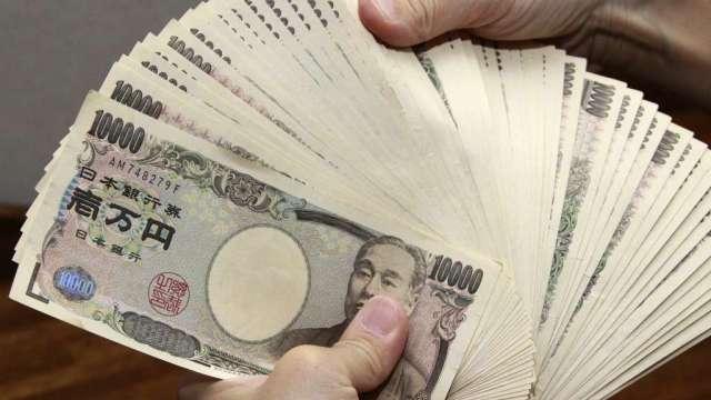 美中緊張局勢惡化 避險貨幣日圓飆上1個月高點(圖:AFP)