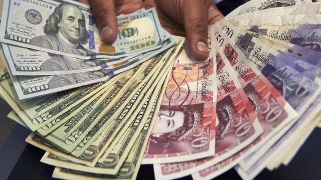 〈紐約匯市〉風險偏好減弱 美元跌至近兩年來低點 避險日圓走強(圖片:AFP)