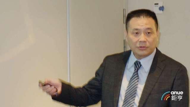 韋僑總經理江鴻佑。(鉅亨網記者張欽發攝)