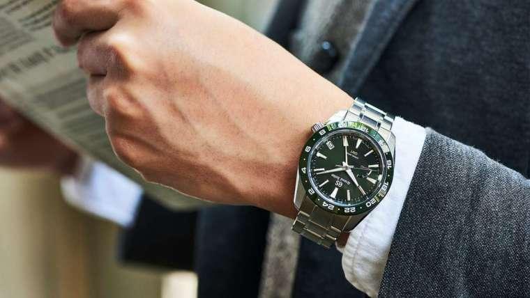 GRAND SEIKO 的運動錶在資深設計師久保進一郎的詮釋下,定位是「具機能性的正裝錶」,因此不會散發出典型運動錶會有的粗獷感,而是具備進階性能的日常佩戴款。