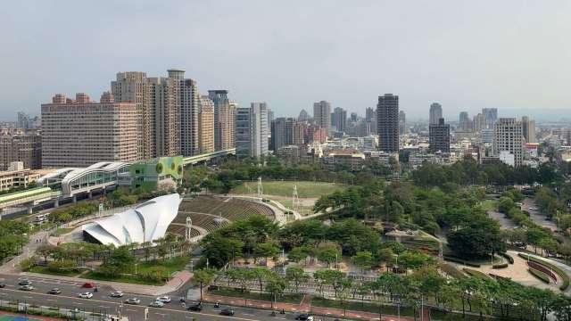 大型綠地300公尺內的物件相對稀有,且備受頂級客層青睞。(圖/立智提供)