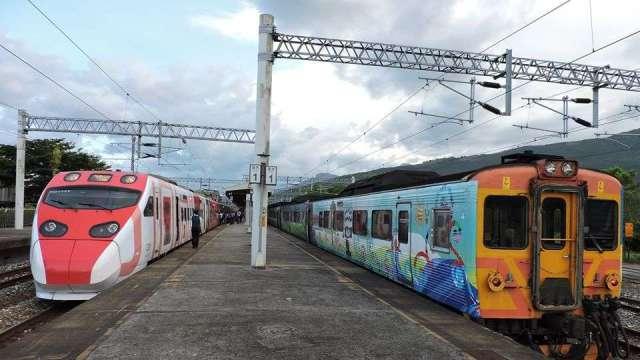 台鐵預訂車票開放至提前28天 新制8/5上路。(圖:台鐵提供)