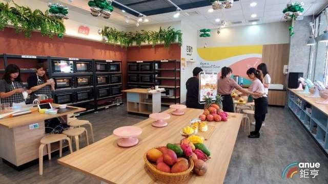 美食-KY首度跨入「手作廚房」領域。(鉅亨網記者王莞甯攝)