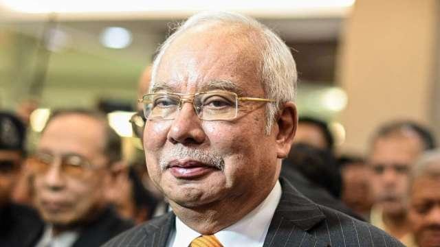 馬來西亞前總理納吉布濫權罪判囚12年 罰款近5000萬美元 (圖:AFP)