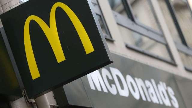 麥當勞Q2營收下跌30% 仍高於市場預期(圖片:AFP)