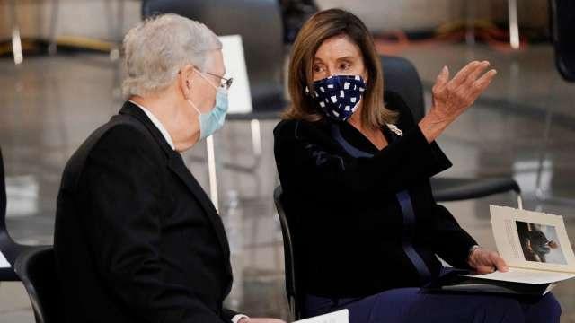 美兩黨磋商無進展 參院新一輪刺激法案卡關 (圖片:AFP)