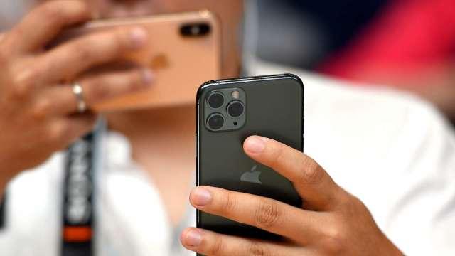 調研機構:蘋果iPhone第二季在中國手機銷售猛增225%(圖片:AFP)