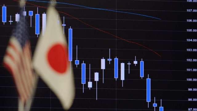 日圓8月上漲機會高?部分機構已看到102價位 (圖片:AFP)