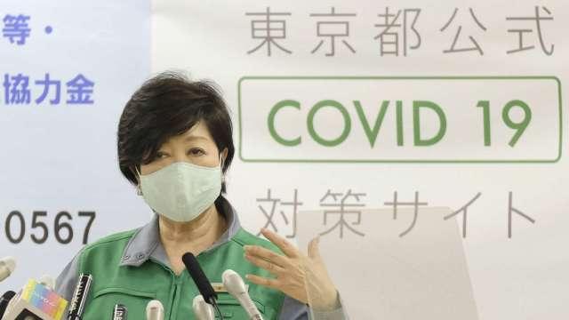 日本單日確診首度破千 大阪創新高 (圖片:AFP)