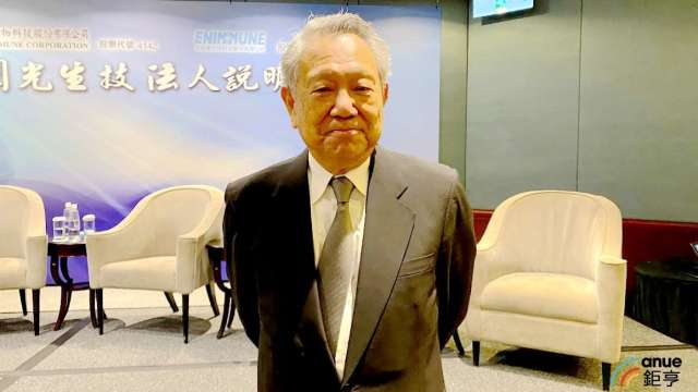 國光生董事長詹啟賢。(鉅亨網記者沈筱禎攝)