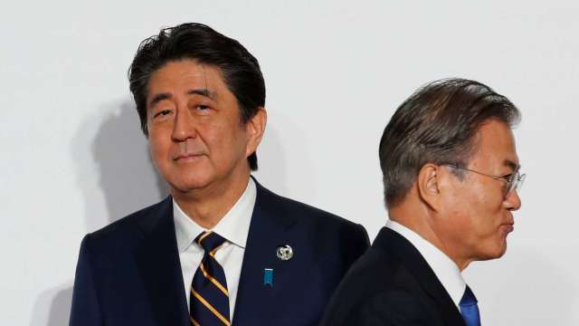 WTO成立小委員會處理日韓貿易紛爭 前後恐長達數年 (圖片:AFP)