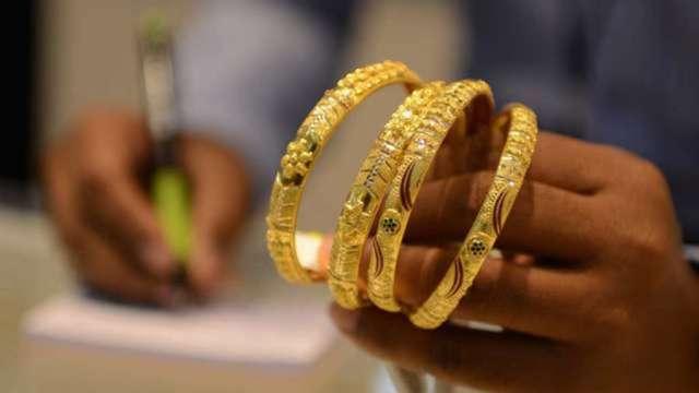 黃金價格飆 天花板在哪?(圖:AFP)