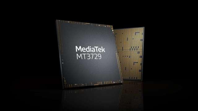 聯發科推收發器晶片 強攻5G基建、資料中心 首批客戶產品已開發中。(圖:業者提供)