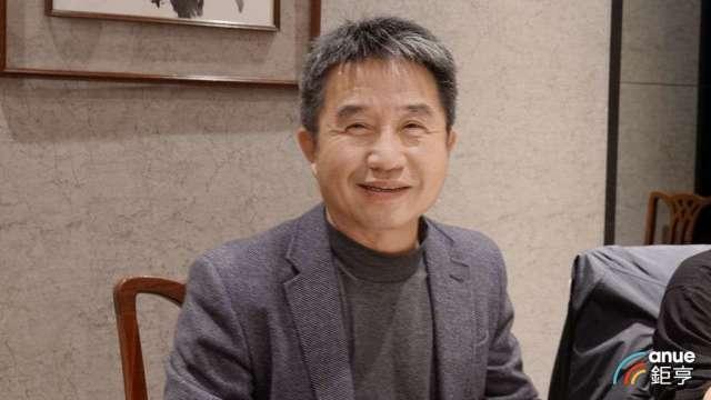 台虹總經理顏志明。(鉅亨網記者張欽發攝)