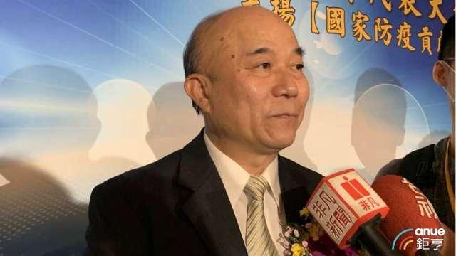 台灣機械工業同業公會理事長柯拔希。(鉅亨網資料照)