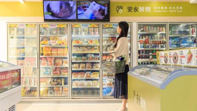 7-ELEVEN全新複合型態「冷凍旗艦店」。(圖:統一超提供)