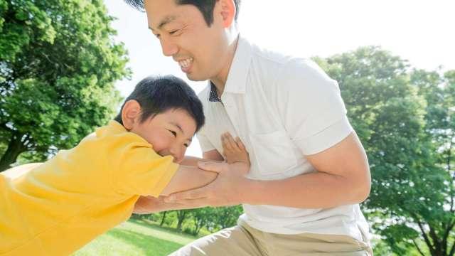 三種時期爸爸責任大不同 保險怎麼保看過來。(圖:全球人壽提供)