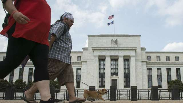 陶冬:美元趨跌—Fed求穩(圖:AFP)