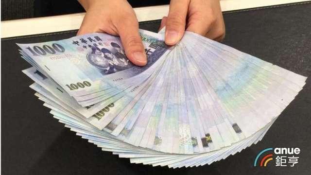 熱錢、央行矛盾大對決 新台幣最高強升2角至29.301元。(鉅亨網資料照)