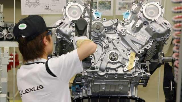 日本7月製造業PMI報45.2 產出減幅是2月以來最低 (圖片:AFP)