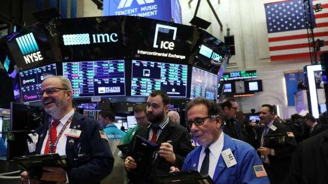 料準3月觸底的大摩Wilson:現在股市最有可能修正10% 接著又繼續走漲(圖片:AFP)