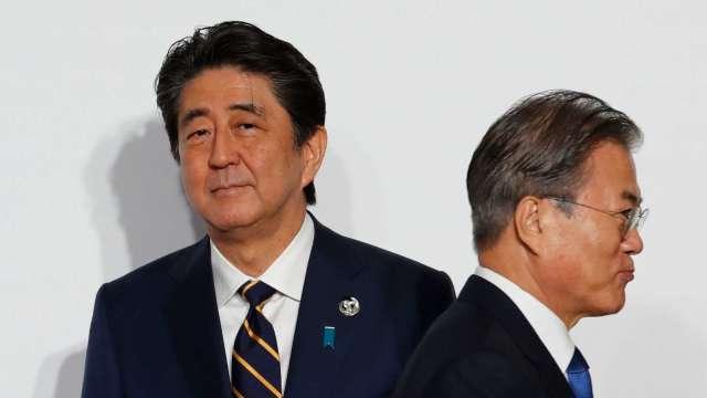 日、韓陷紛爭 美國聯手盟友抗中計畫恐受影響 (圖片:AFP)