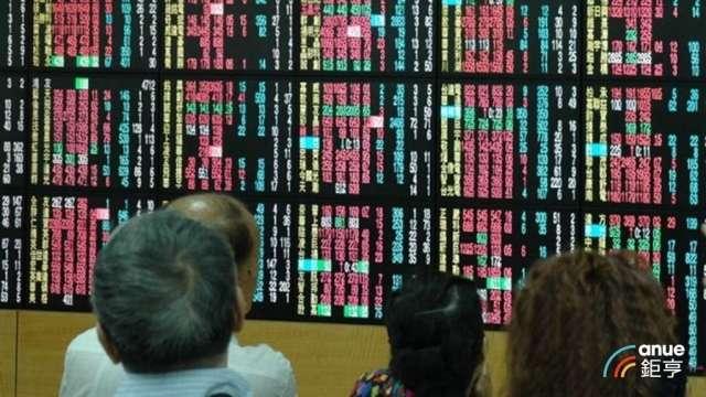 〈台股盤中〉電子權值股強攻 大盤漲逾百點、收復5日線。(鉅亨網資料照)