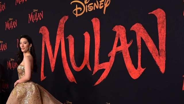 〈財報〉迪士尼在財報上宣布Disney+訂戶9月起可在平台上獨家觀賞真人版電影《花木蘭》(圖片:AFP)