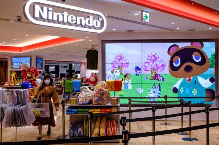 「集合啦!動物森友會」更新系列遊戲的銷售紀錄 (圖片:AFP)