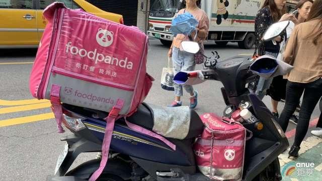 疫情催生美食外送商機 1成網友首度使用 foodpanda穩居龍頭。(圖:AFP)