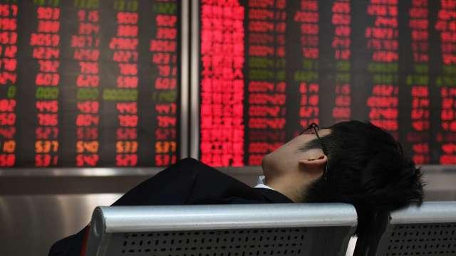 A股探底回升 上證指數收漲0.17% 創業板強升近1%(圖:AFP)