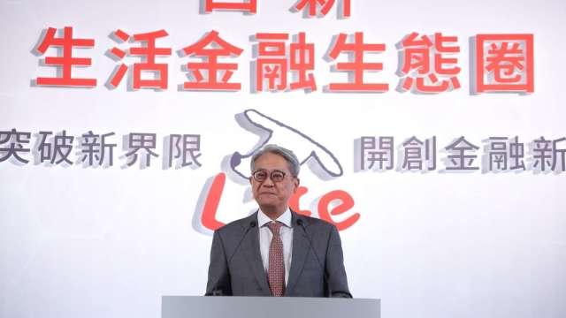 台新金董事長吳東亮。(圖:台新金提供)