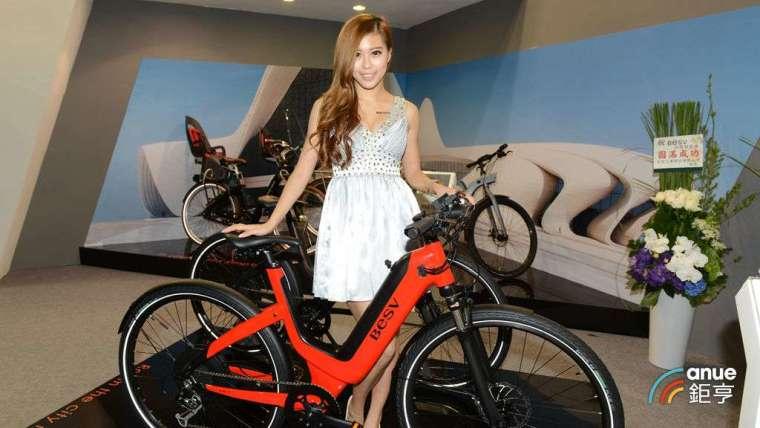 達方先前在台北國際自行車展參與展出的電自行車。(鉅亨網記者張欽發攝)