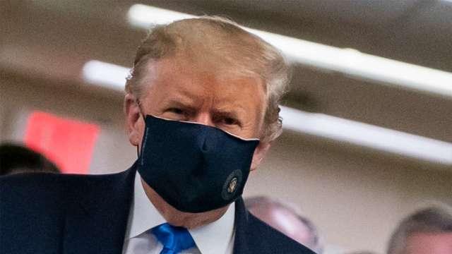 罕見!臉書刪除川普不當疫情言論(圖片:AFP)
