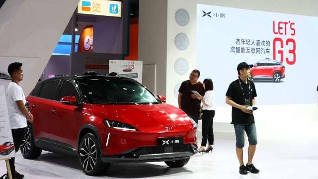 最新!傳小鵬汽車赴美IPO前再募資4億美元(圖片:AFP)