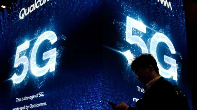 華為:中國5G用戶今年逾2億佔全球七成(圖片:AFP)