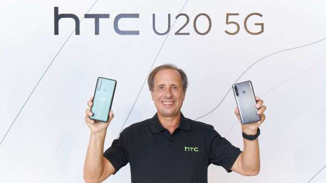HTC CEO Yves Maitre。(圖:宏達電提供)