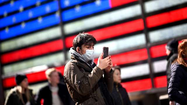 疫情仍嚴峻 美國宣布解除全球4級旅遊警示 (圖:AFP)