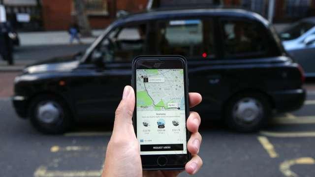 〈財報〉疫情衝擊!Uber Q2營收較去年下滑29% 拖累盤後跌近4%(圖片:AFP)