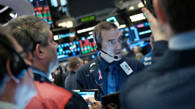納指突破11000點!美股全靠科技股?(圖片:AFP)