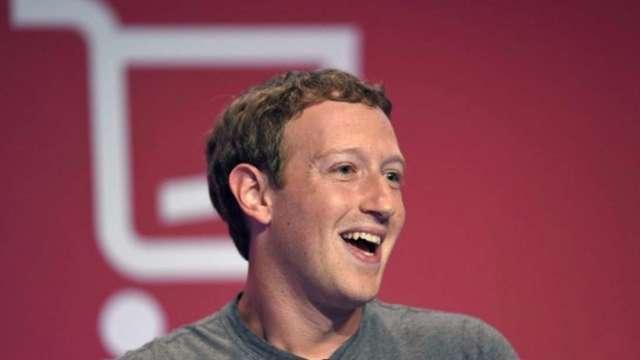 臉書股價大漲6% CEO祖克伯加入千億美元富豪俱樂部  (圖:AFP)
