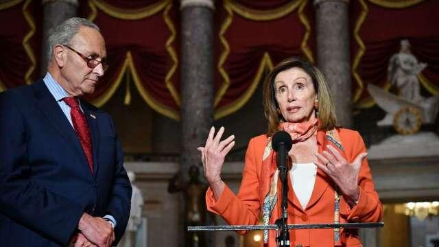 逾3小時長談無重大進展 白宮、民主黨談判瀕臨崩潰邊緣(圖:AFP)